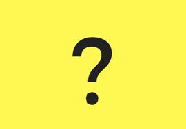 punto di domanda su fondo giallo