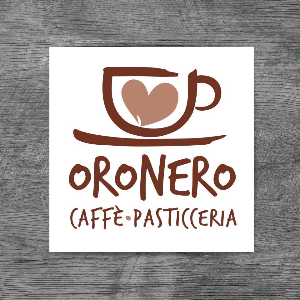 Nuovo logo Oro Nero Caffè Pasticceria