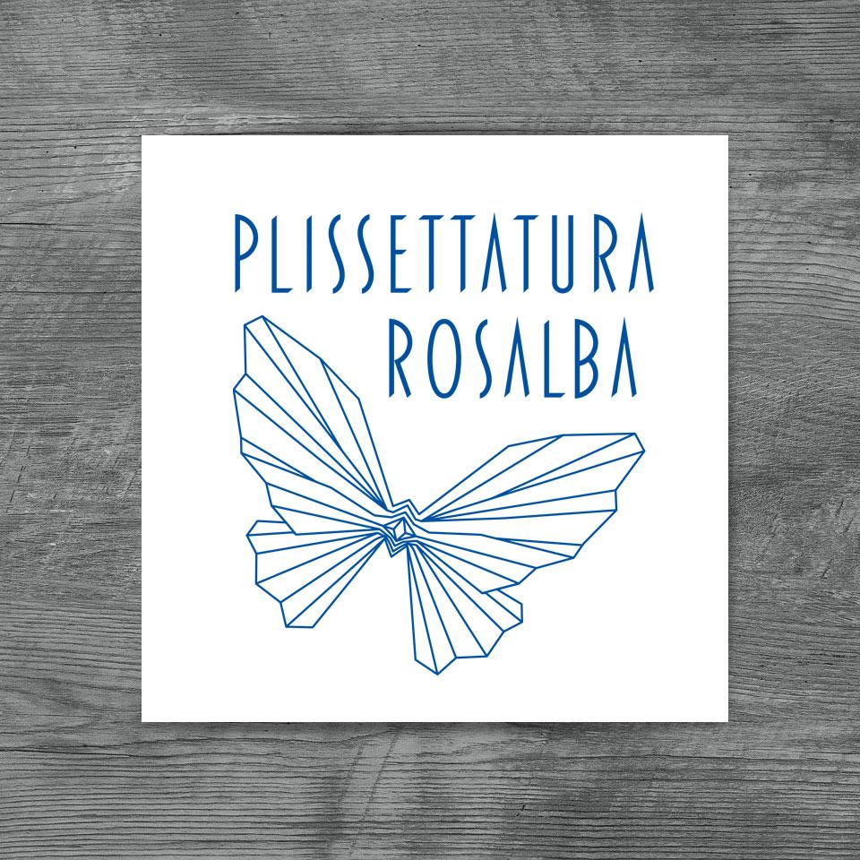 Nuovo logo Plissettatura Rosalba