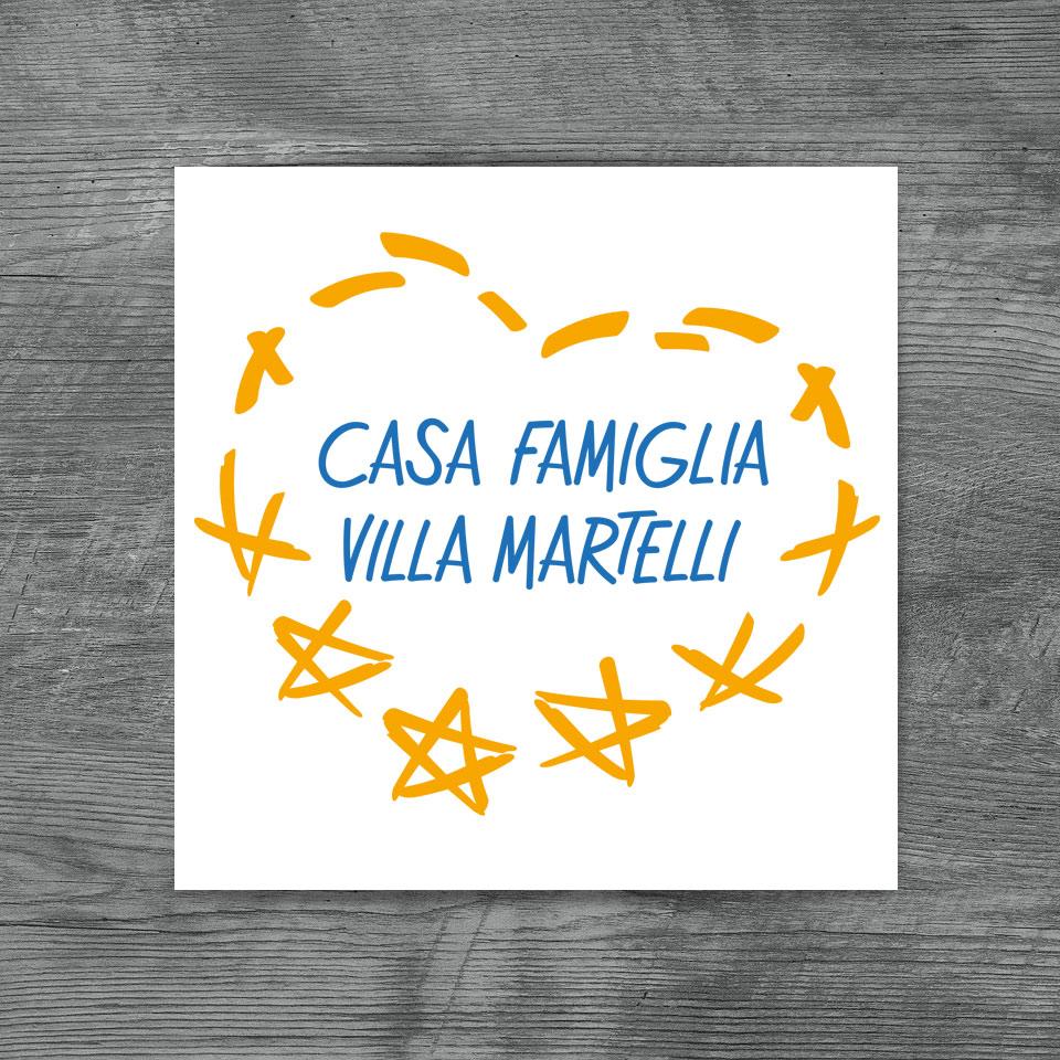 Nuovo logo Casa Famiglia Villa Martelli