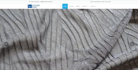 immagine home page del sito di Plissettatura Rosalba