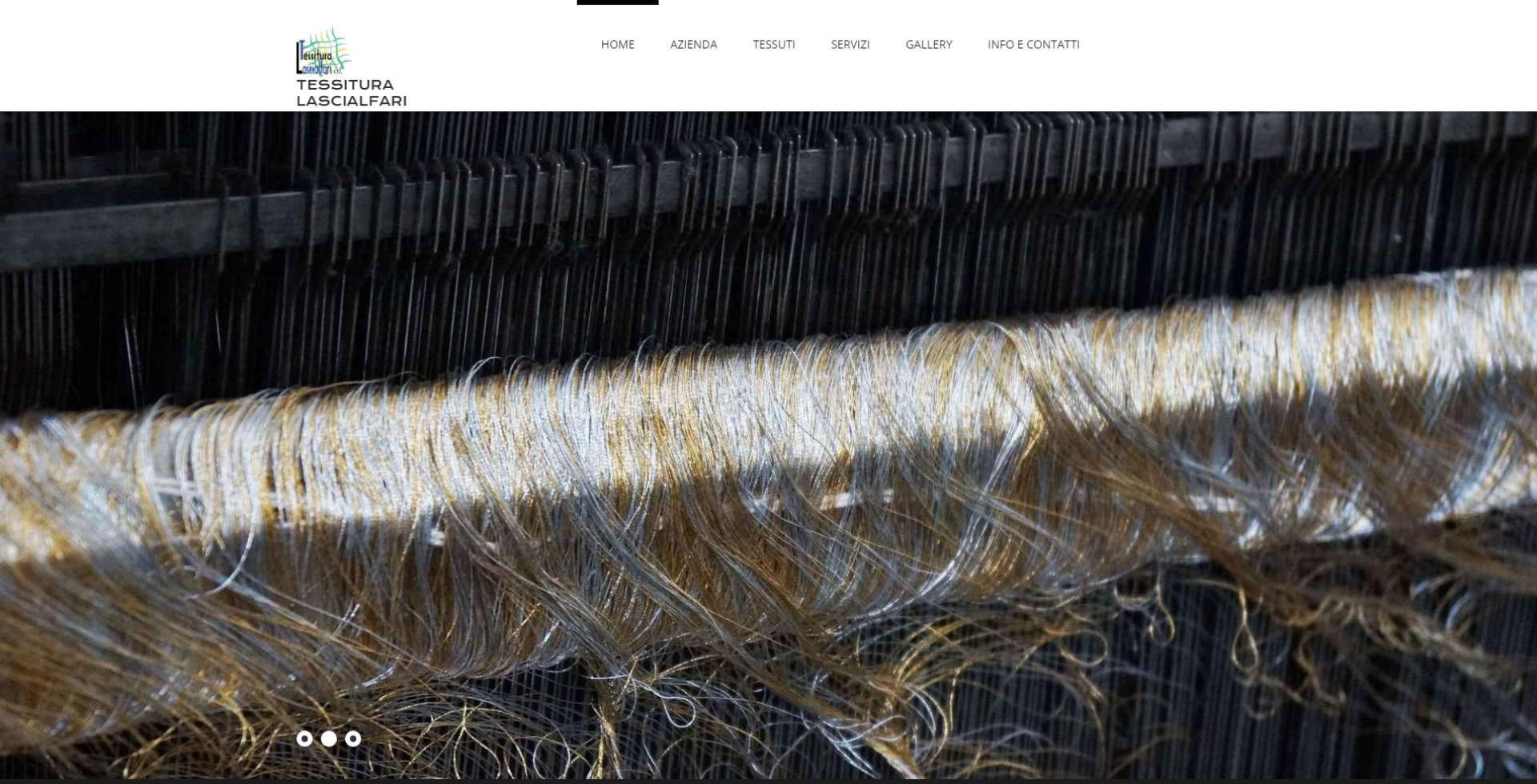 immagine home page del sito Tessitura Lascialfari