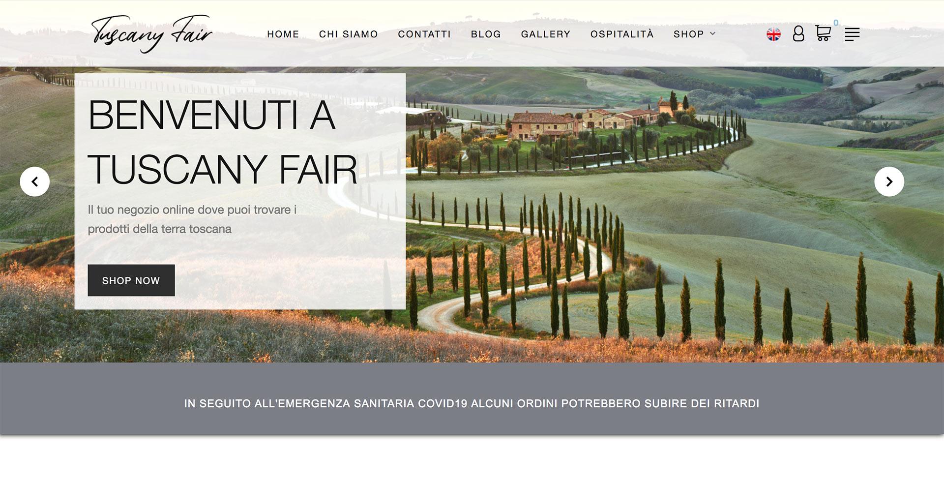 immagine home page del sito tuscanyfair